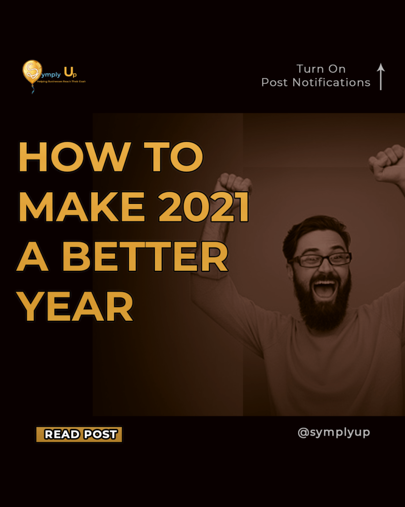 how to make 2021 a better year